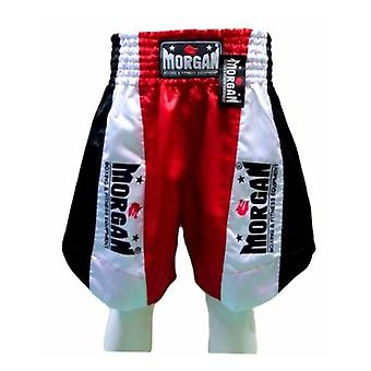 Morgan Elite Boxing Shorts Red