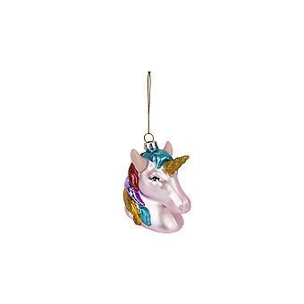 Sunnylife festive unicorn shaped tree bauble