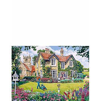 Status Gardeners Round 4x500pc Jigsaw G5047