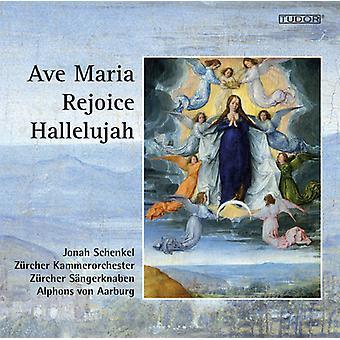 Bach / Schenkel / Zurich Chamber Orchestra - Ave Maria - Rejoice - Hallelujah [CD] USA import