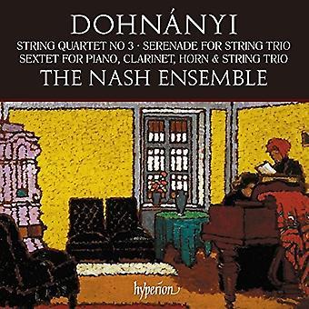Nash Ensemble - Dohnanyi: String Quartet No.3 Serenade Op.10 [CD] USA import