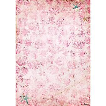 Studio Light Backgroundpaper 10 Sheets A4 Romantic Summer 221 BASISRS221