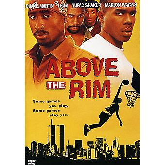 Above the Rim [DVD] USA import