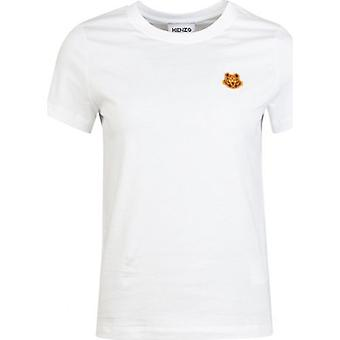 Kenzo Classic Fit Tiger Crest Logo T-Shirt