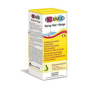 Pediakid nose and throat spray (nasal and oral) 20 ml