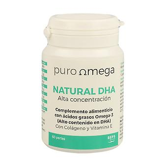 Natural DHA High Concentration 60 softgels