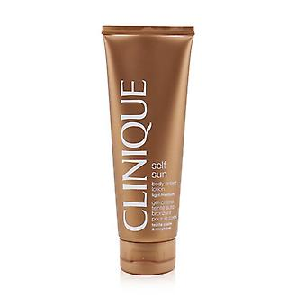 Clinique Self Sonne Körper getönte Lotion - Licht / mittlere 125 ml / 4.2 oz