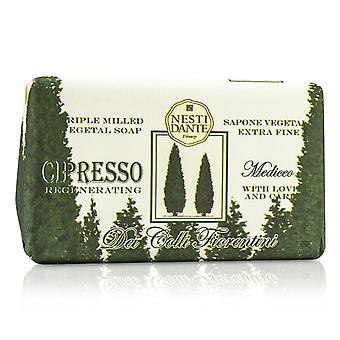 Dei colli fiorentini tredobbelt sleben vegetal sæbe cypres træ 189767 250g/8.8oz