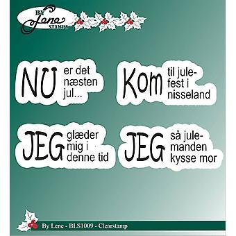 بواسطة Lene واضح ختم النصوص الدنماركية 3