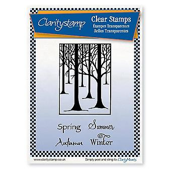 Claritystamp Treescape & Seasons Clear Stamps
