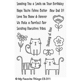 Meine Lieblings-Dinge Meow Mix Clear Briefmarken