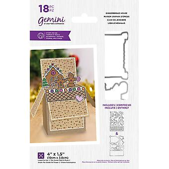 Géminis Gingerbread House Stamp & Morir