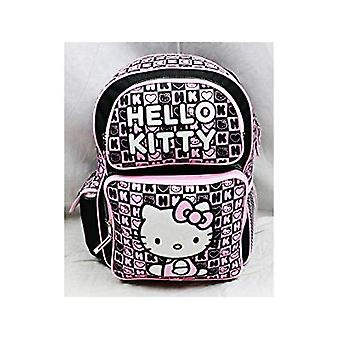 Backpack - Hello Kitty - Black Box Checker (Large School Bag) 82358
