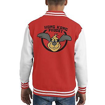 Kung Fu Penry pooch Kid ' s Varsity jakke