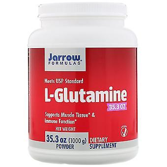 Formules Jarrow, Poudre de L-Glutamine, 35,3 oz (1000 g)