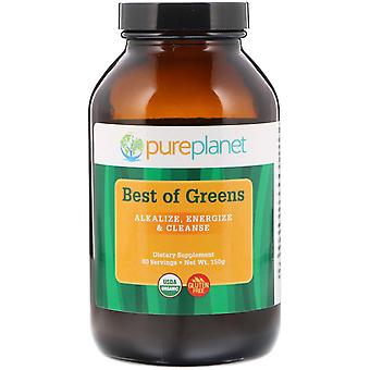 Pure Planet, Organic Best of Greens, 150 g