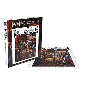 David Bowie Jigsaw Puzzel Never Let Me Down Album Cover nieuwe officiële 500 Stuk