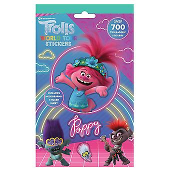 Trolls World Tour Movie 700 Stickers Avec Holographic Shee