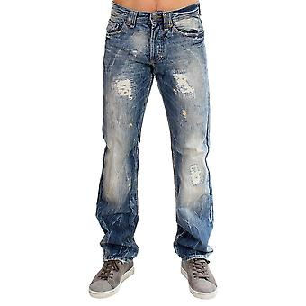 Galliano Blue Washed Cotton Jeans SIG10821-1