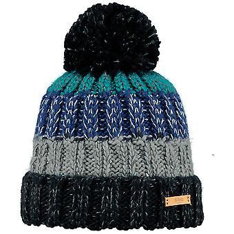 Barts Mens Wilhelm Warm Cozy Knitted Walking Bobble Beanie Hat