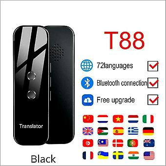 Portable T8 Smart Voice Speech Translator Two-way Real Time 40+ Multi-language Translation For Learning Travelling Business Meet