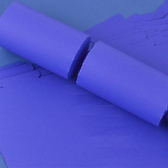 Single Dark Purple Make & Fill Your Own DIY Recyclable Christmas Cracker Kit