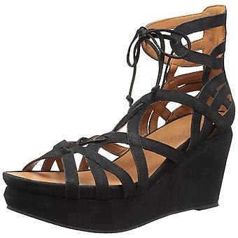 Gentle Souls Womens Joy Ghillie Open Toe Casual Platform Sandals