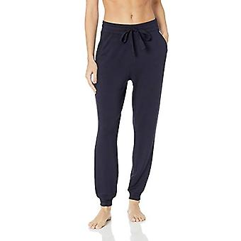 Brand - Mae Women's Standard Supersoft French Terry Lounge Jogger, nav...