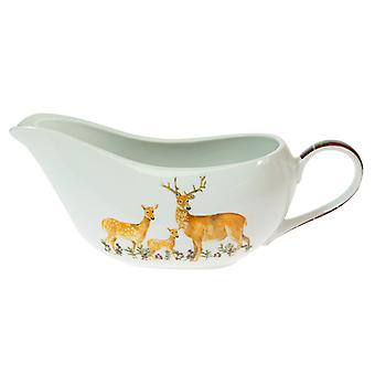 Foxwood Home Winter Lodge Gravy Boat