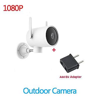 Smart Outdoor Camera Waterproof Ip66 Wifi Webcam With 270 Angle And 1080p Ip