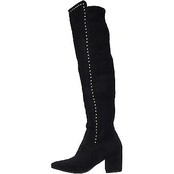Seven Dials Women's Shoes Nessie Fabric Closed Toe Knee High Fashion Boots