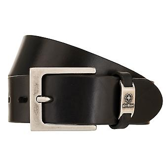 Strellson Belt Men's Belt Leather Belt Black 2038