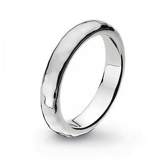 Kit Heath Coast Pebble hamrade 4mm band ring 1104HD021
