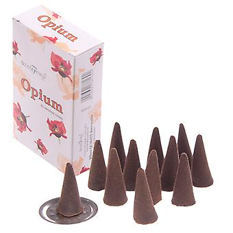 Stamford Hex Incense Cones - Opium X 1 Pack
