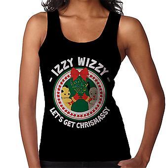 Noki joulu Izzy Wizzy Lets Get Chrismassy Women's Vest