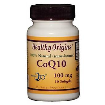 Healthy Origins CoQ10 - Kaneka Q10, 100 mg, 10 Softgels