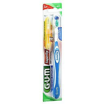 Gum Supertip Brosse à dents Soft, 1 Chacun