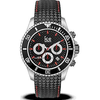 Ice Watch - Wristwatch - Men - ICE steel - Black racing - Large - CH - 017669