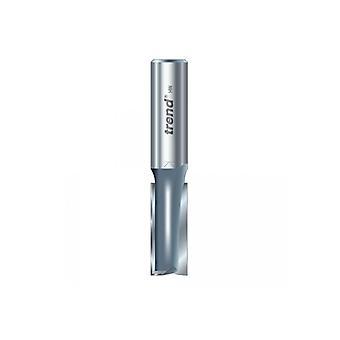 Tendencia 3/6 x 1/2 TCT Cortador de dos flautas 10,0 mm x 19 mm TRE3612TC