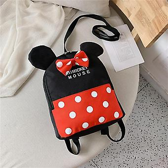 Disney Mickey Minnie's Cartoon School Bag Baby Small School Bag Backpack