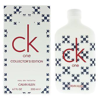 Calvin Klein CK One Collector's Edition Eau de Toilette 200ml Spray Unisex