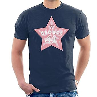 Curieux George 41 Star Men-apos;s T-Shirt