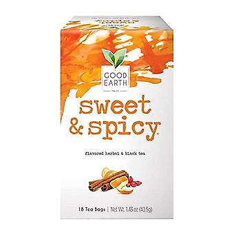 Good Earth Sweet & Spicy Flavored Herbal & Black Tea