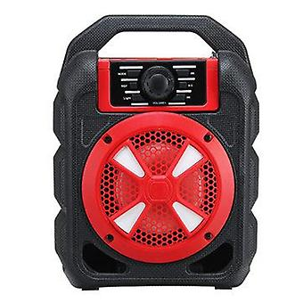 Portable 9W bluetooth Wireless Speaker Colorful Light Hifi Stereo Outdoor