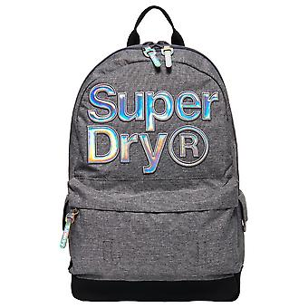 Superdry Holo Infill Montana Backpack - Grey Marl