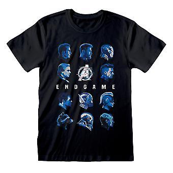 Avengers Endgame Tonal Heads Tee T-Shirt officiel Unisex