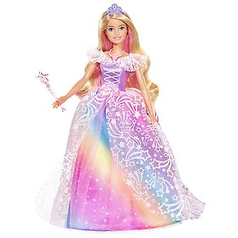 Barbie gfr45 dreamtopia kráľovská lopta princezná bábika