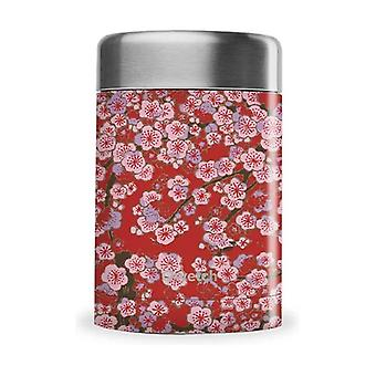 Insulated lunch box - Red Flowers Collection 340 ml