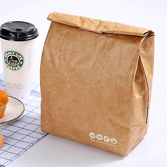 Foldable Reusable Leakproof Paper Lunch Food Bag (1)