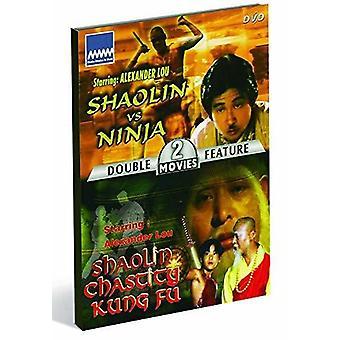 Shaolin Vs Ninja / Shaolin Chastity Kung Fu [DVD] USA import